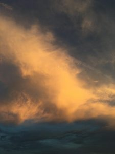 photo of an abstract sky Seth Mason took in Charleston, South Carolina